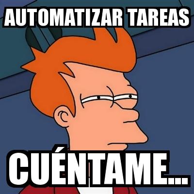automatizacion tareas