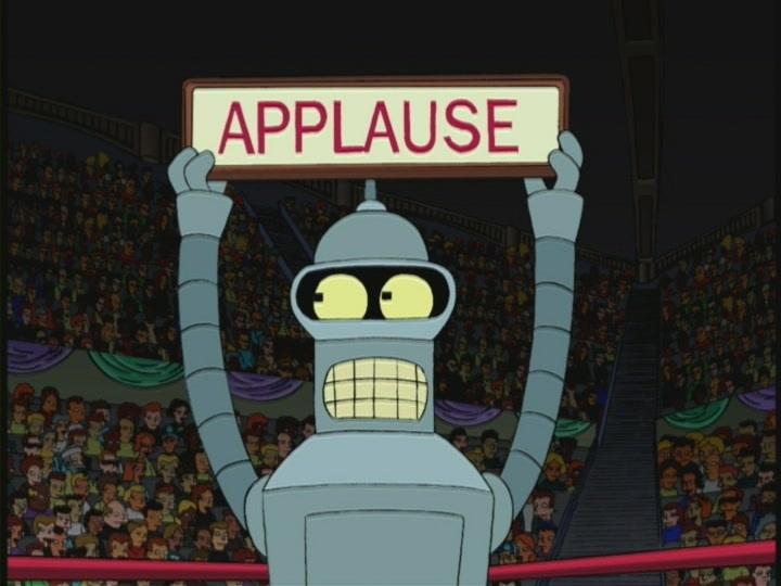 bender aplausos