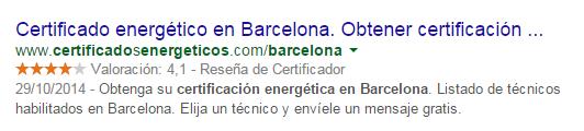 certificados energeticos en barcelona