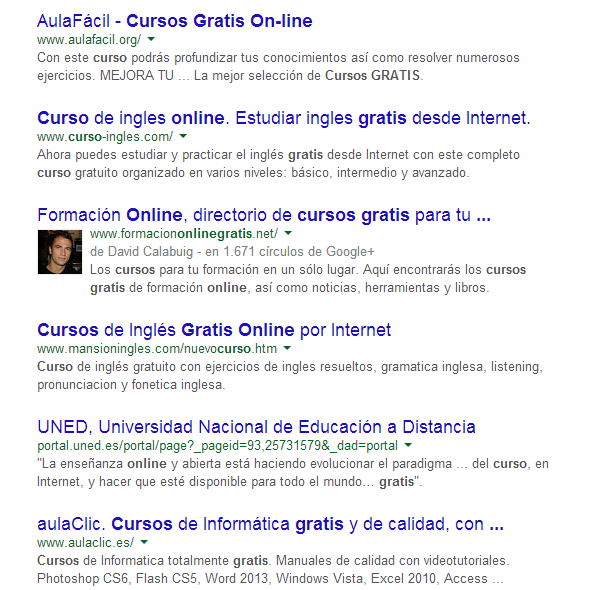 ejemplo authorship google