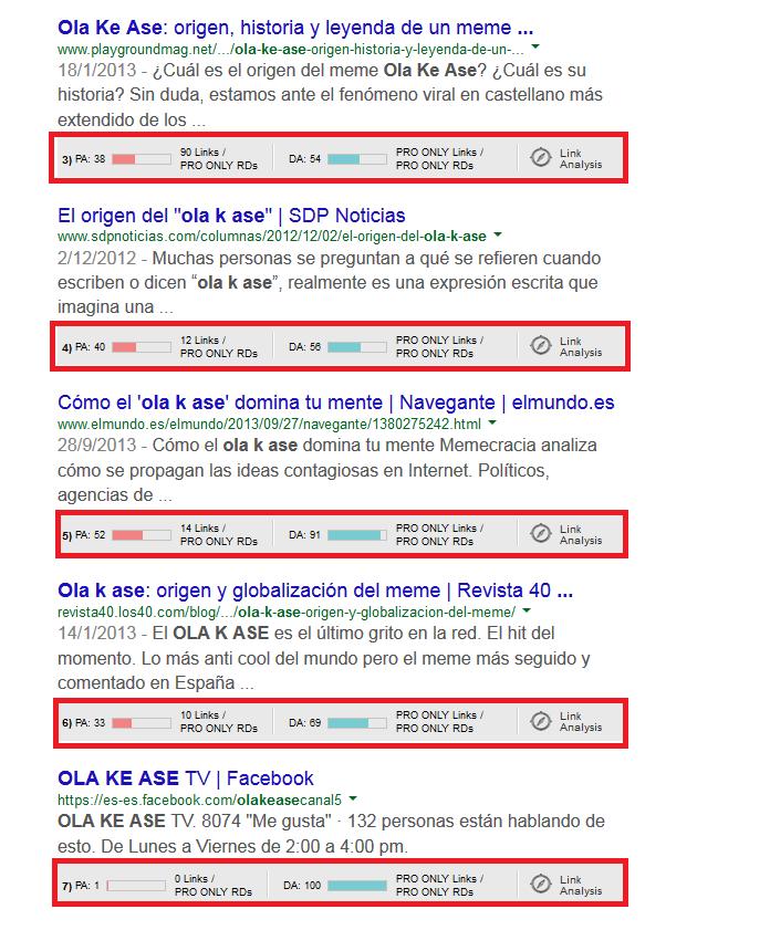 ejemplo saber autoridad web