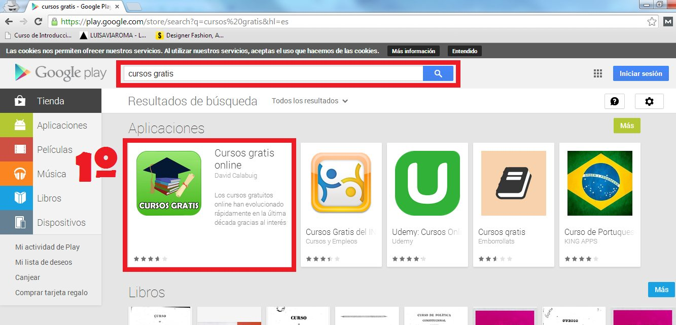 captura seo para aplicaciones moviles