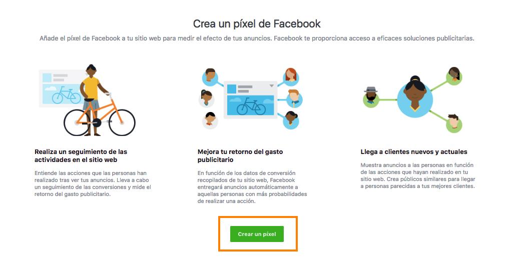 crear pixel facebook para prestashop