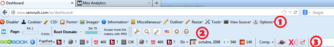 Plugins y extensiones SEO para los navegadores